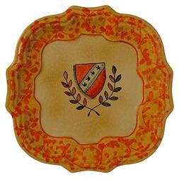 Italian Dinnerware - Yellow Dinner Plate - Handmade in Italy