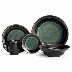 Gourmet Basics Jade 40 Piece Dinnerware Set