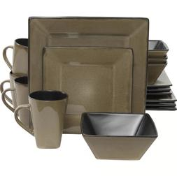 jove 16 piece dinnerware set service