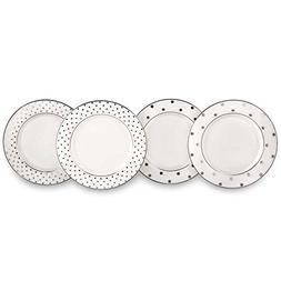 kate spade new york Larabee Road Platinum Tidbit Plate Set -