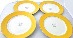 4-Piece Kate Spade Lenox Rutherford Circle Yellow Pattern Ac