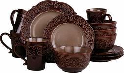 Kitchen Dinnerware Dish Set Dining Plate Bowl Mug Stoneware