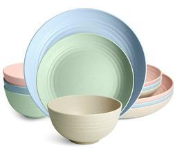 Kitchen Dinnerware Set,Dinner Plates,Dessert Plate,Cereal Bo