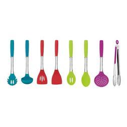 Cuisinart Kitchen Utensil 8 Piece Tool Set in Fun Colors