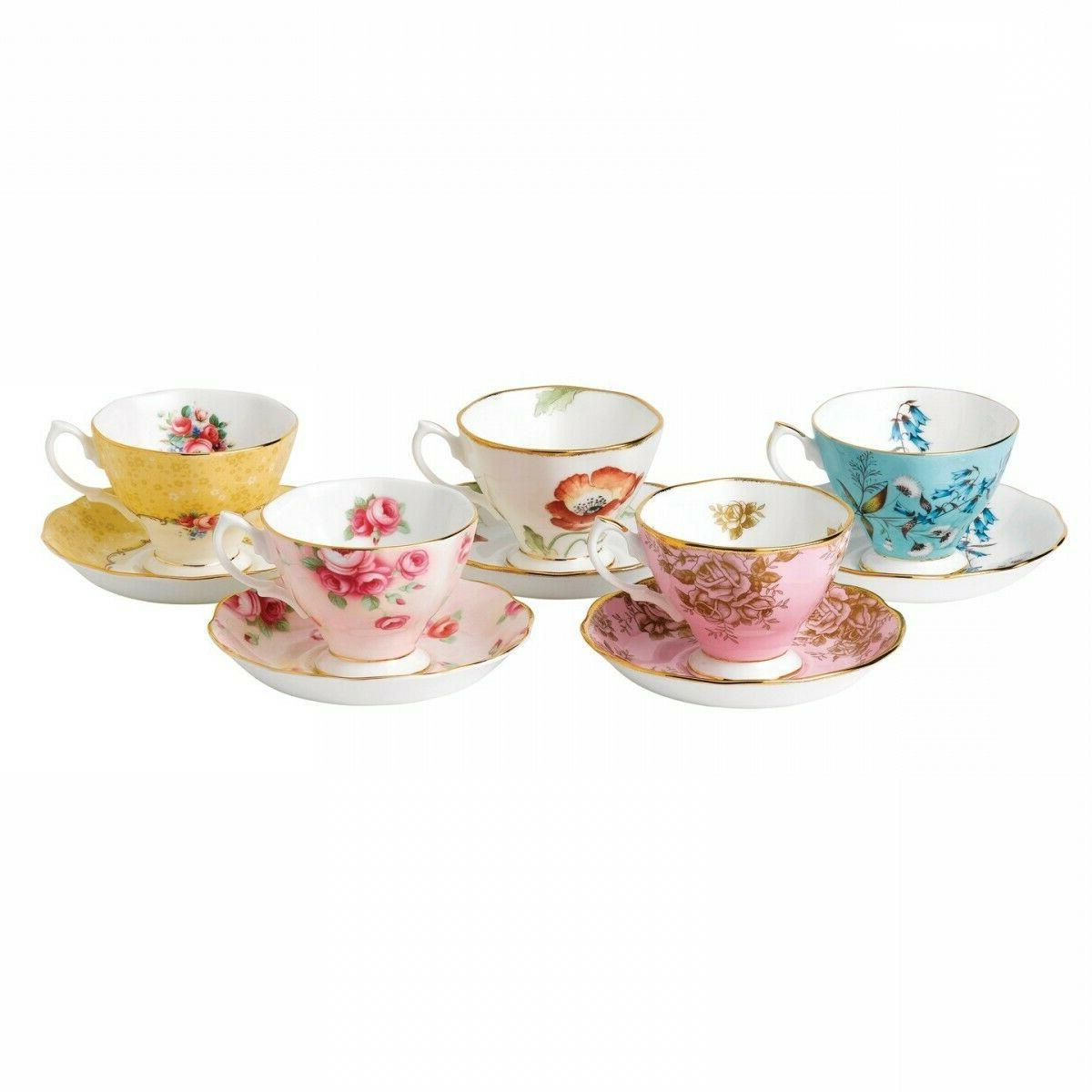 100 years teacup saucer set
