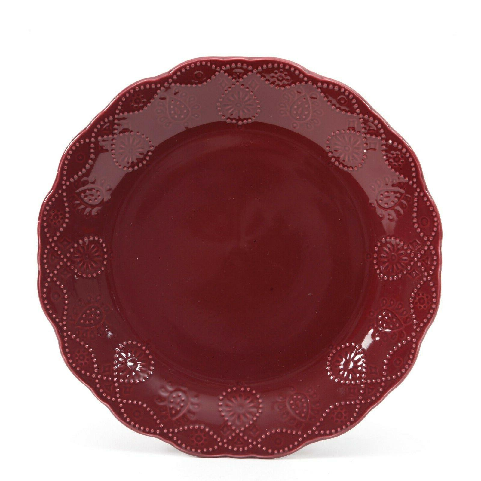 12-PC Lace Set, Dishes and
