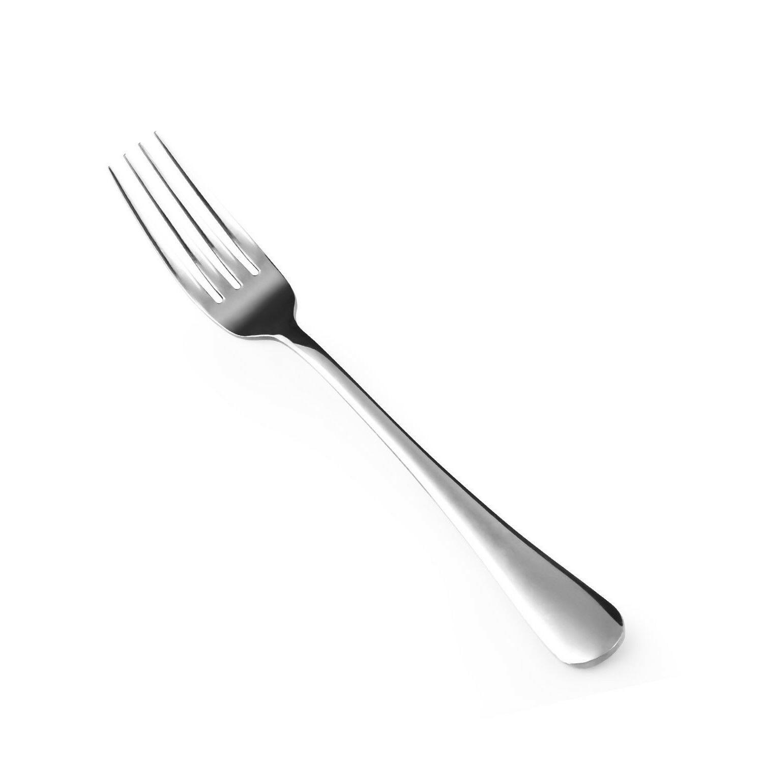 12 piece good stainless steel dinner forks