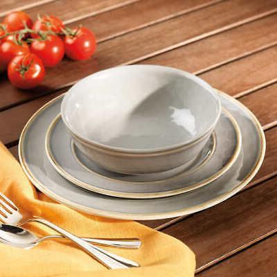 Pandex 12-piece Melamine Dinnerware Set, Dishwasher Safe,