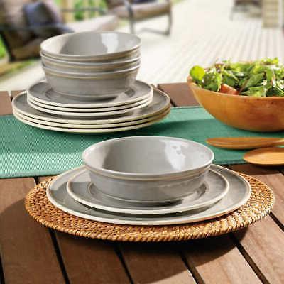 Pandex Melamine Dinnerware Set, Dishwasher