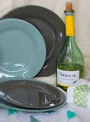12-Piece Melamine Dinnerware - for 4
