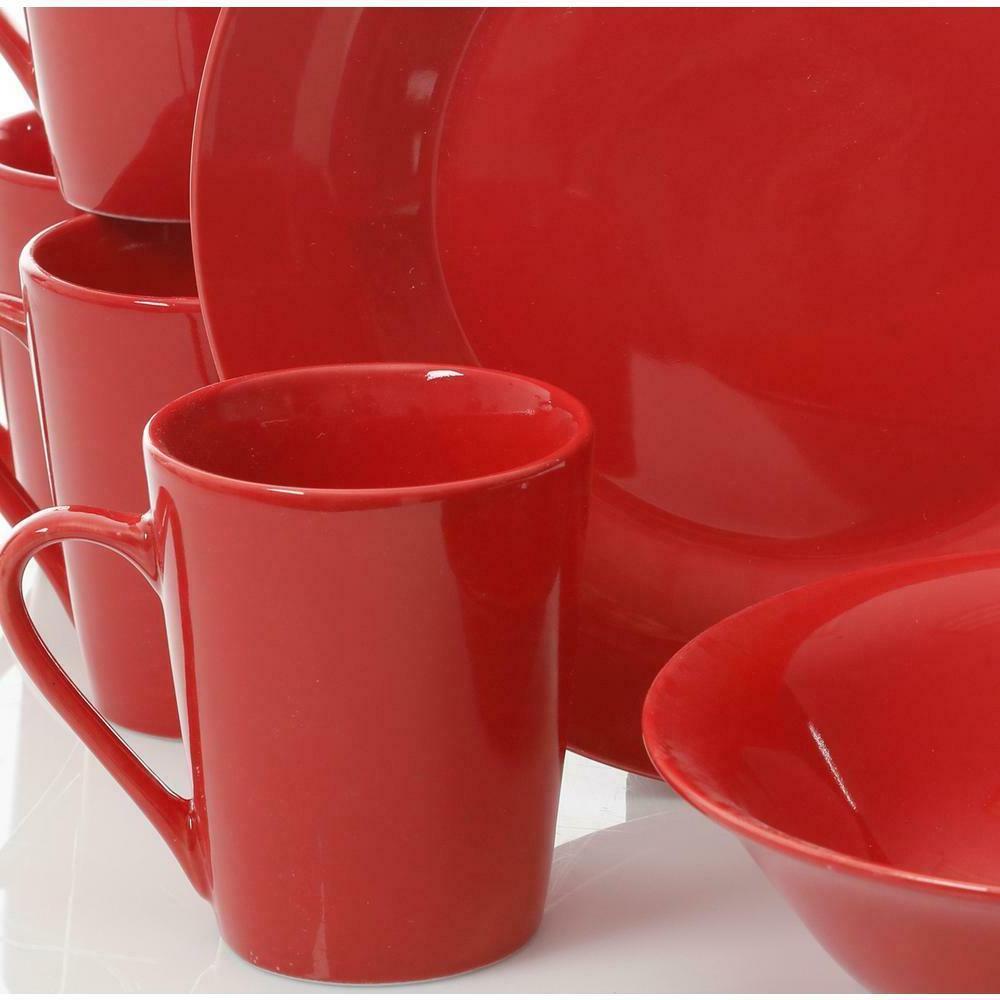 12 Set Dishes Dining Porcelain Home