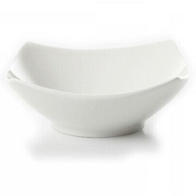 12-Piece Square Dinner Ceramic