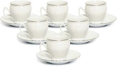 12pc miniature espresso coffee sets bernadette platinum