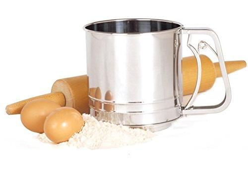 131 stainless steel deluxe flour