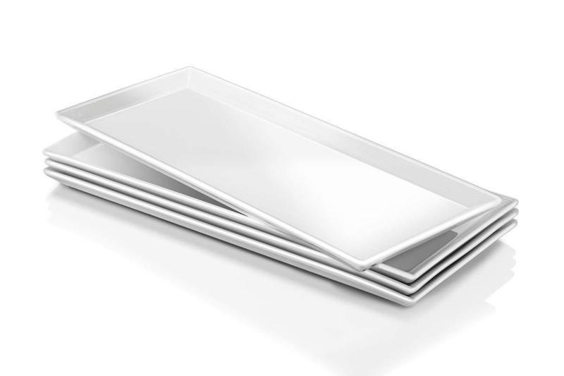 14 5 inch porcelain serving platters rectangular