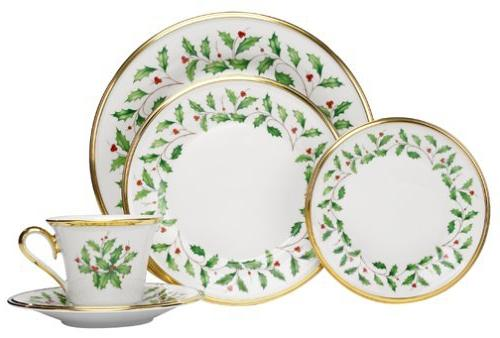 146590600 holiday plate setting