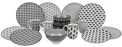 16-Piece Ceramic Dinnerware of set Plates