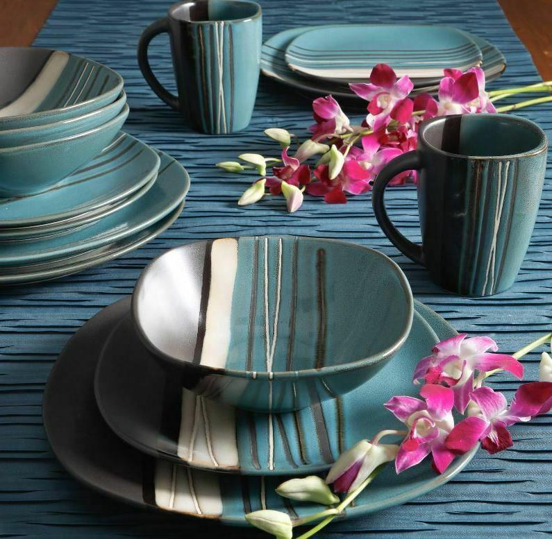 16 Dinnerware Dinner Kitchen Plates