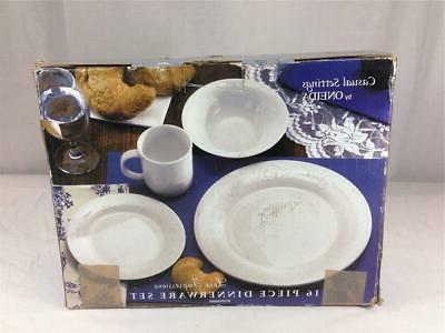 Oneida Piece Dinnerware Set