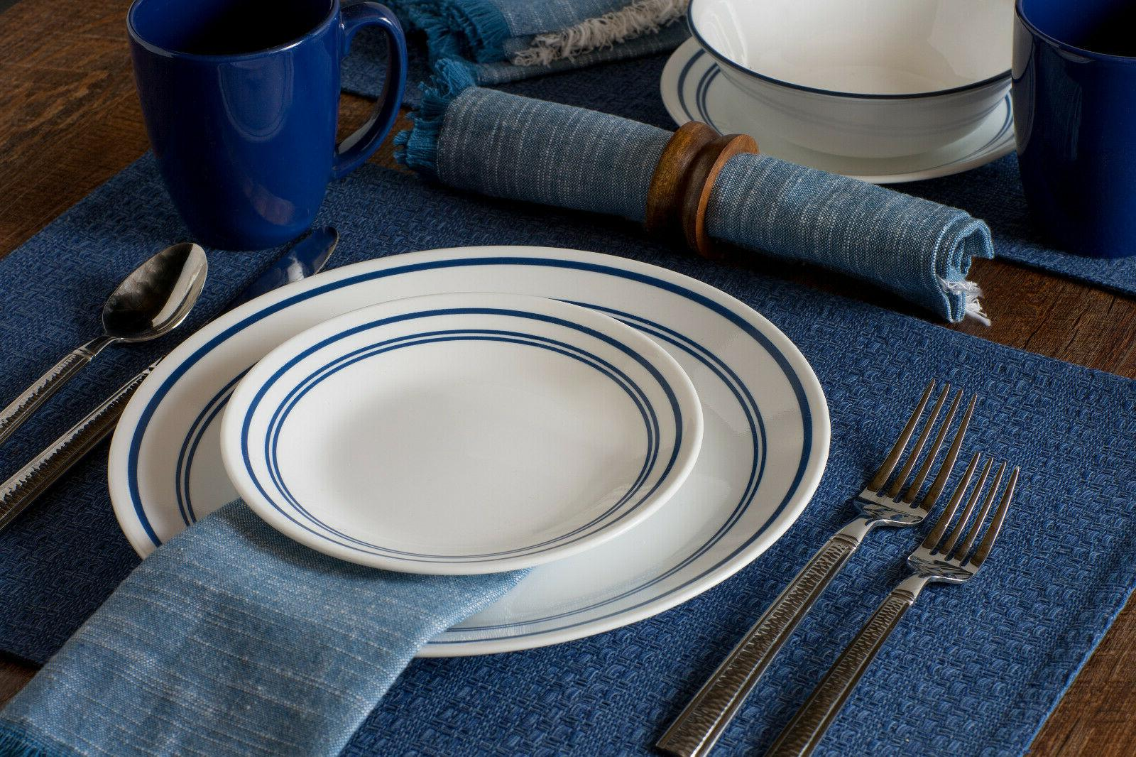 16 Dinnerware Set Lightweight Dinning