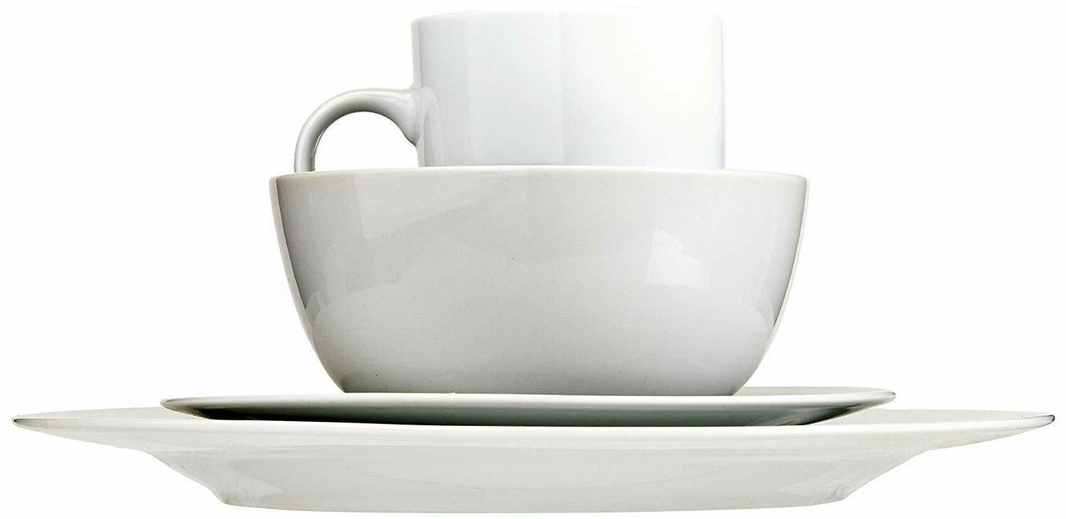 16-Piece Set, Plates, Bowls, Mugs, for 4,