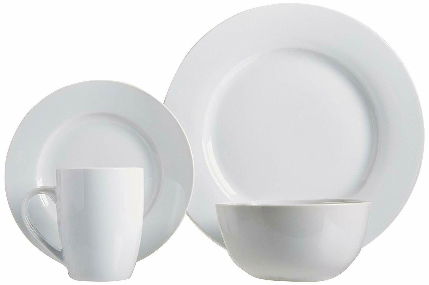 16-Piece Dinnerware Plates, for