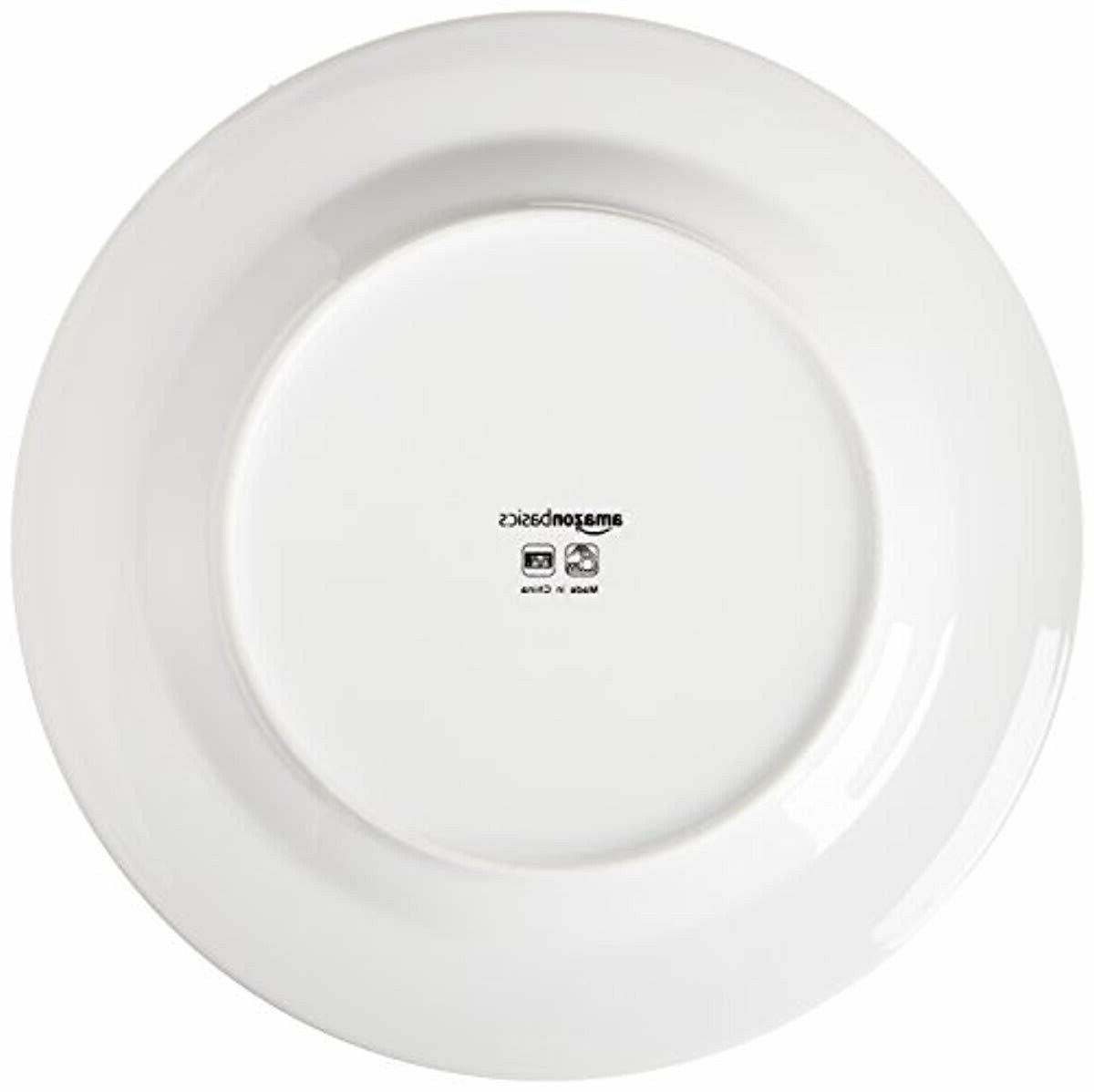 AmazonBasics 16-Piece Dinnerware Set, Service