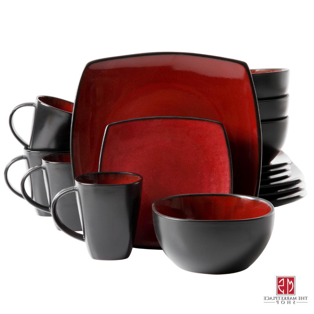 16-Piece Dinnerware Kitchen Plates Mugs