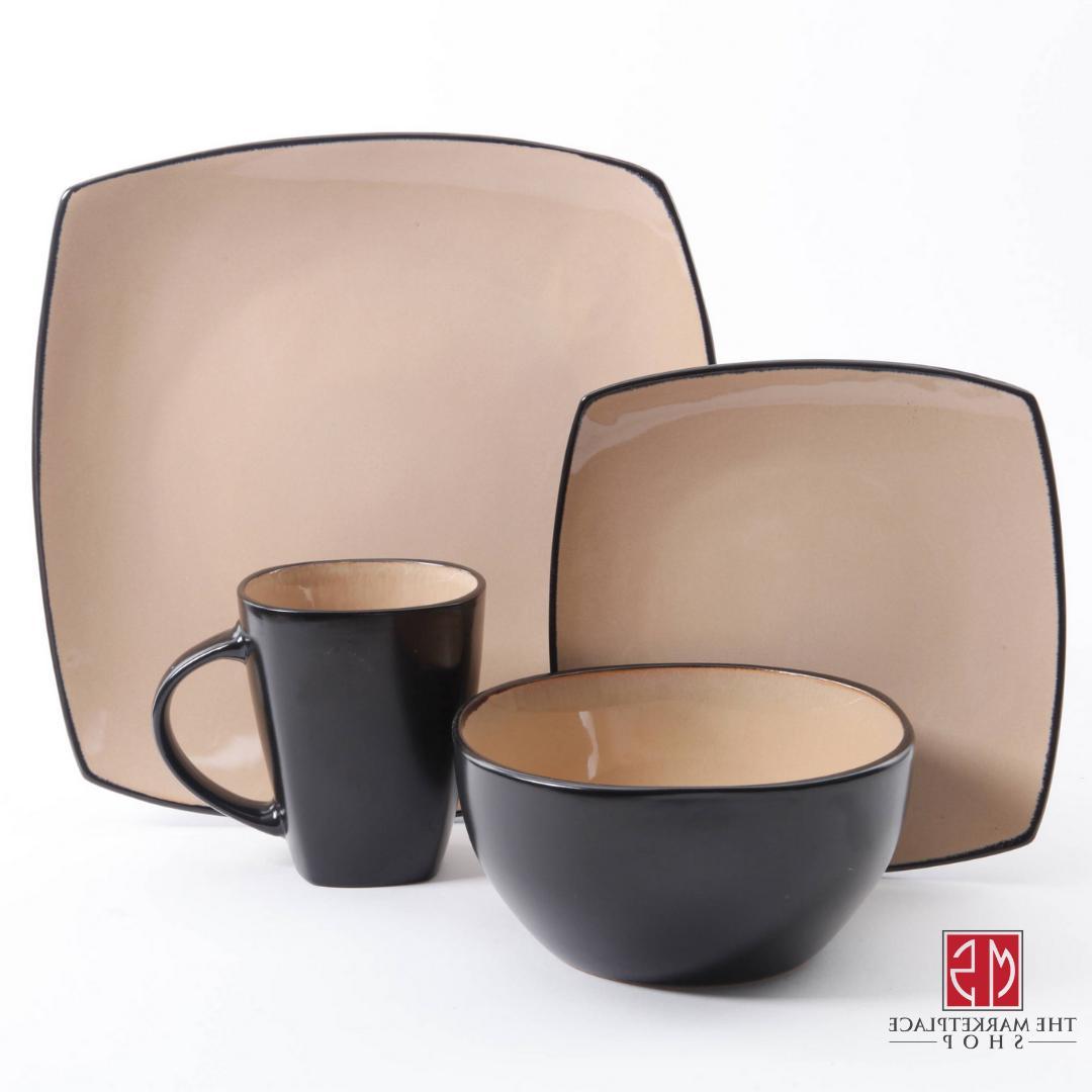 16-Piece Dinnerware Set Kitchen Bowls Mugs Dishes