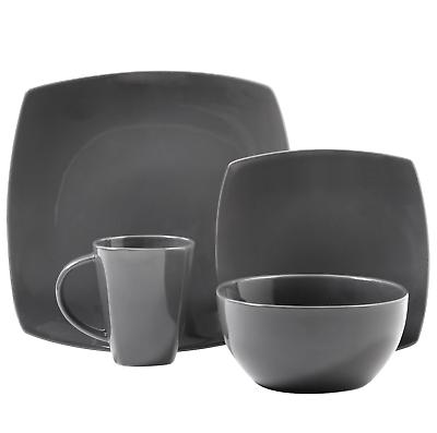 16-Piece Dinnerware Set Mugs Dishes