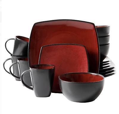 16-Piece Dinnerware Set Kitchen Mugs