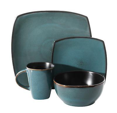 16-Piece Kitchen Plates Mugs
