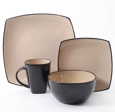 16-Piece Dinnerware Kitchen Dinner Plates Mugs Dishes