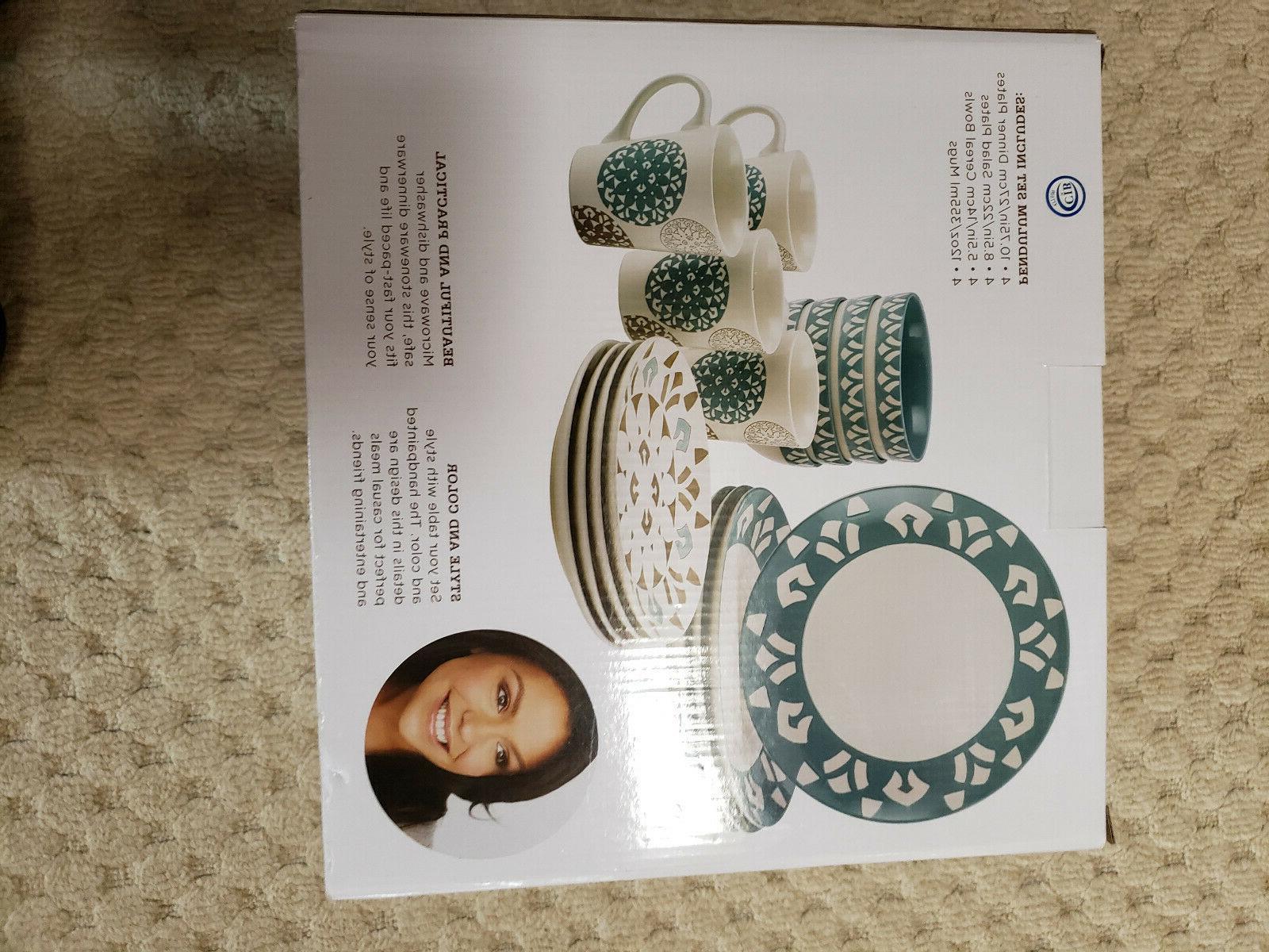 Rachael 16 Dinnerware Set Stoneware