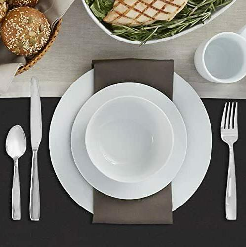 16-Piece Plates, Mugs, for White