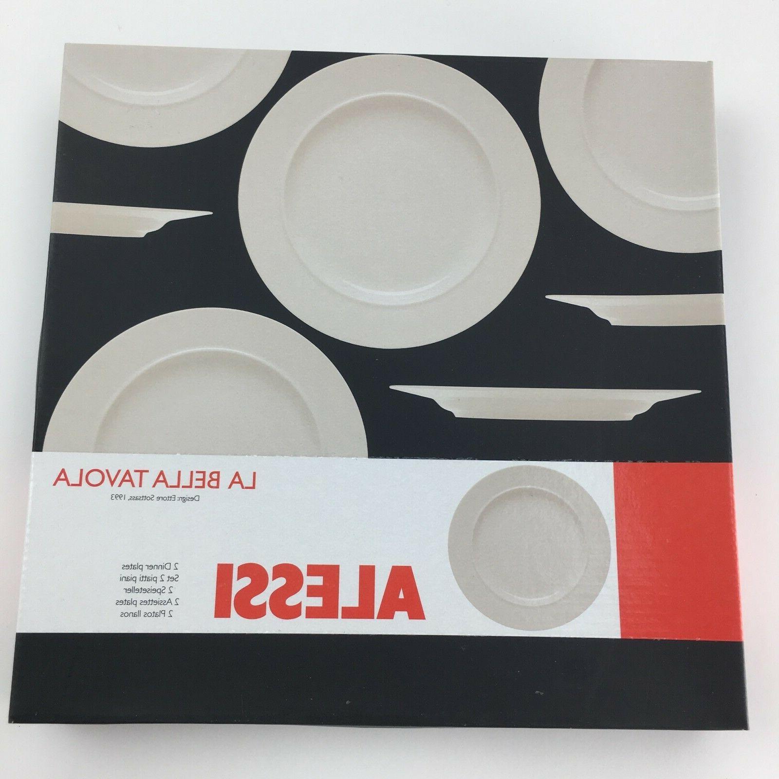 14 Bella Tavola Dinnerware 4 Settings Sottsass