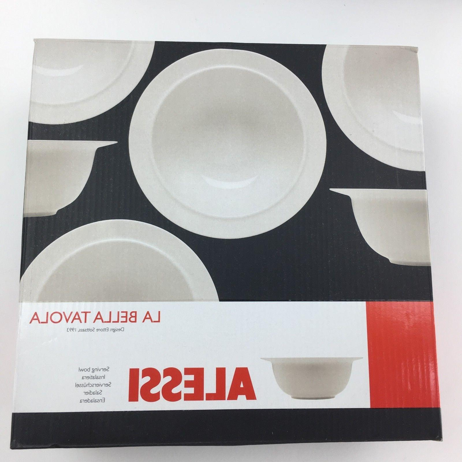 14 ALESSI Bella 4 Settings Sottsass
