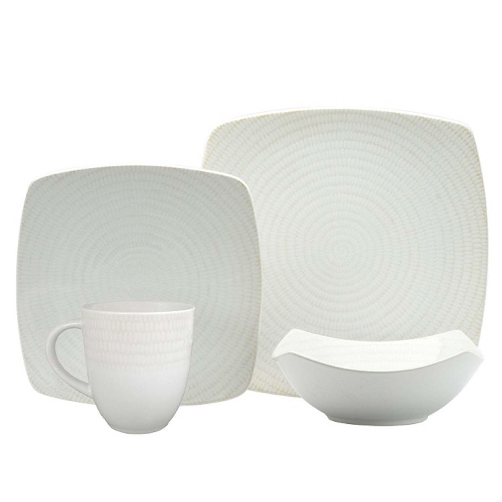 16-piece Kitchen Dinnerware Durable Dishwasher Safe