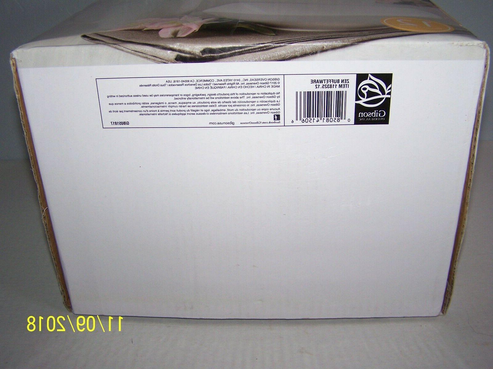 Gibson 16 Zen Buffetware White