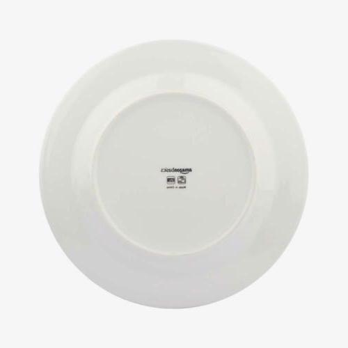 AmazonBasics 18-Piece Dinnerware - Branches, 6