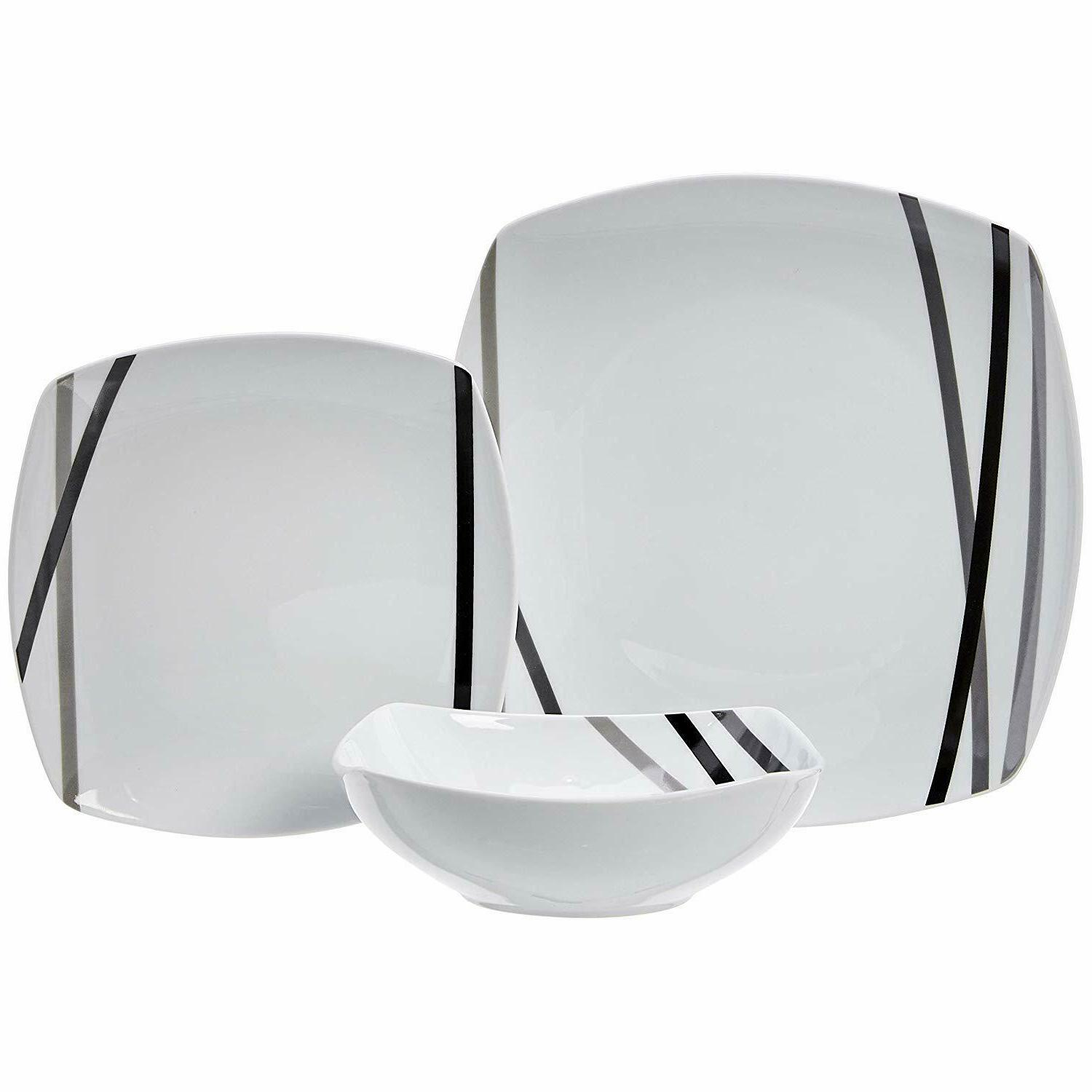 AmazonBasics Dinnerware Service for