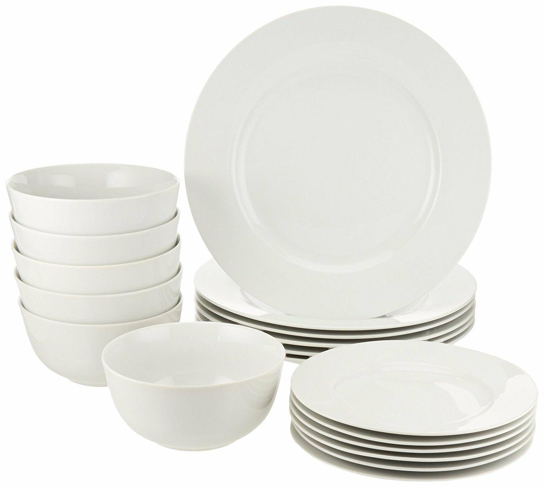 18 piece dinnerware set service for 6