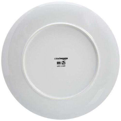AmazonBasics Dinnerware - White Service