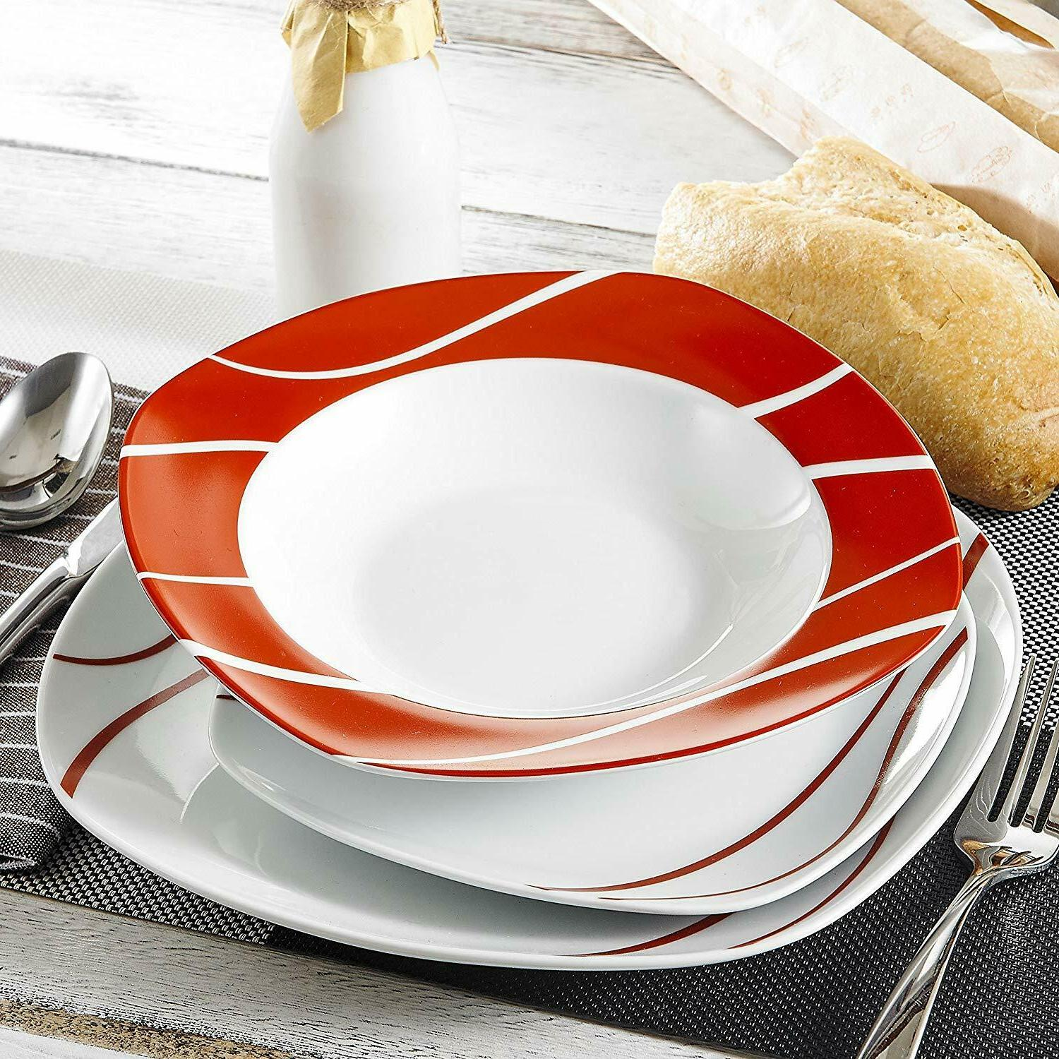 18-Piece for Person, Dinner Set