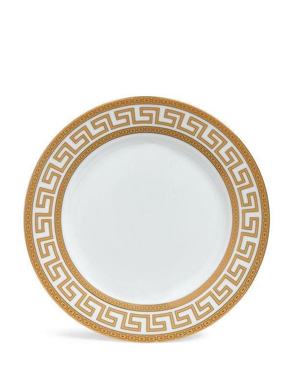 Euro Porcelain White for Greek Key Gold