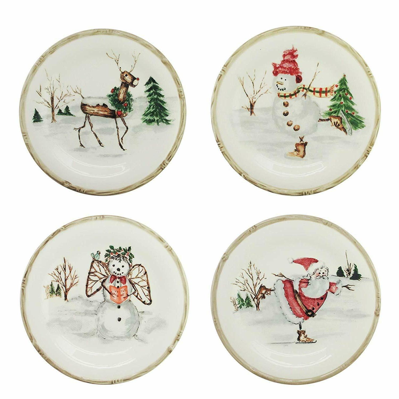 20 Piece Christmas Dinnerware Set NEW.