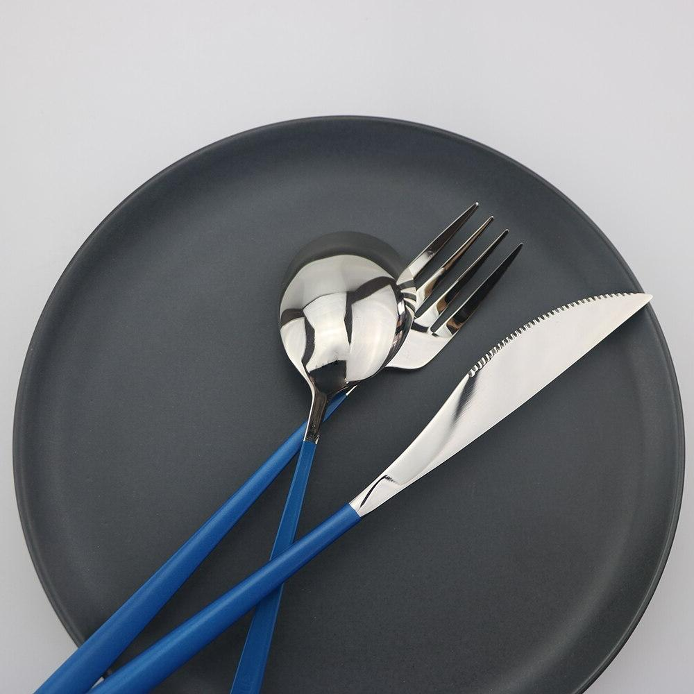 Eco-Friendly <font><b>Dinnerware</b></font> Stainless Steel Fork <font><b>Set</b></font>