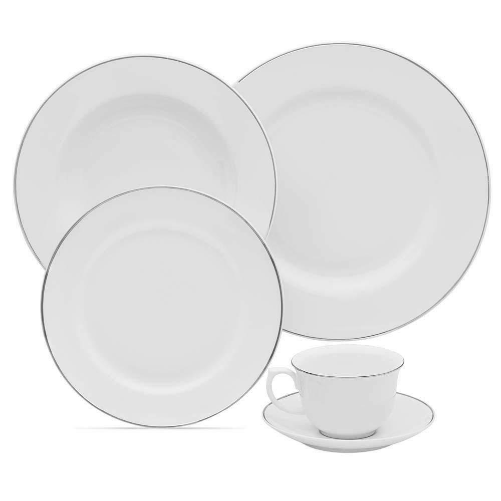30 piece 6 place settings porcelain flamingo