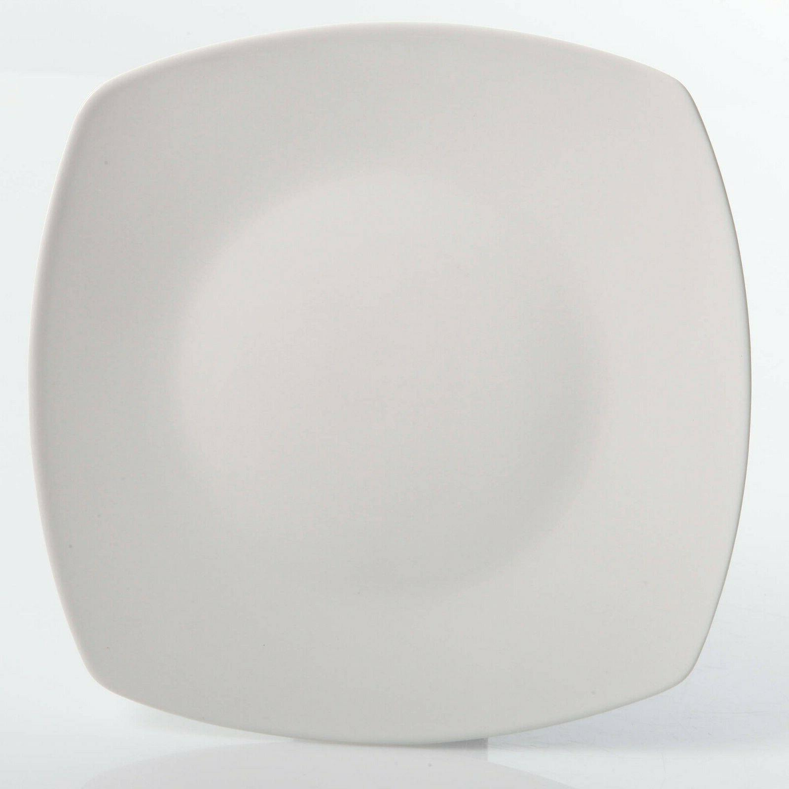 30-Piece Porcelain Square Dinner Service