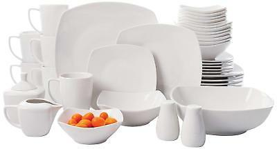 37 pcs porcelain dinnerware set buffetware service